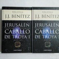 Libros de segunda mano: JERUSALEN. CABALLO DE TROYA 1. PRIMERA Y SEGUNDA PARTE. EDITORIAL PLANETA DEAGOSTINI. TDK377. Lote 155562138