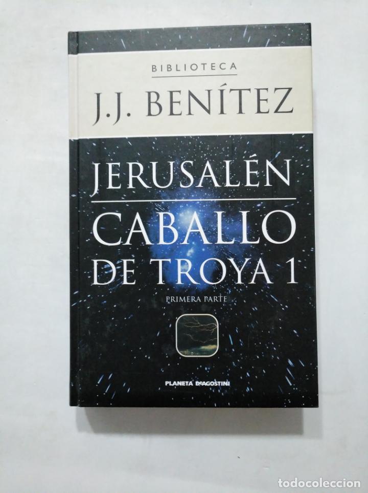Libros de segunda mano: JERUSALEN. CABALLO DE TROYA 1. PRIMERA Y SEGUNDA PARTE. EDITORIAL PLANETA DEAGOSTINI. TDK377 - Foto 2 - 155562138