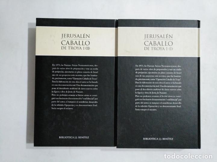 Libros de segunda mano: JERUSALEN. CABALLO DE TROYA 1. PRIMERA Y SEGUNDA PARTE. EDITORIAL PLANETA DEAGOSTINI. TDK377 - Foto 4 - 155562138