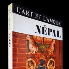 Libros de segunda mano: NEPAL. L'ART ET L'AMOUR. GIUSEPPE TUCCI. NAGEL. 1975.. Lote 155585162