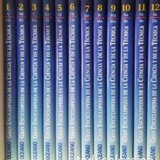 Libros de segunda mano: GRAN ENCICLOPEDIA DE LA CIENCIA Y DE LA TECNICA - EDICIONES OCEANO - EDICION 1994 -. Lote 155639046