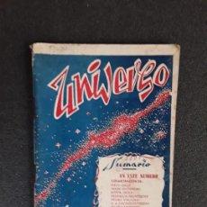 Libros de segunda mano: (REVISTA) UNIVERSO, SOCIOLOGÍA, CIENCIA, ARTE. Nº13, 1º DE MAYO DE 1948. TOULOUSE.. Lote 155657262
