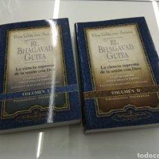 Libros de segunda mano: EL BHAGAVAD GITA PARAMAHANSA YOGONANDA LA CIENCIA SUPREMA DE LA UNIÓN CON DIOS 2 VOLS. Lote 155657329