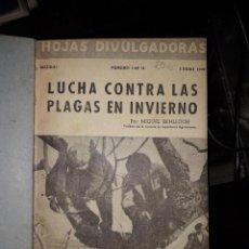 Libros de segunda mano: HOJAS DIVULGADORAS ECUADERNADAS. Lote 155660838