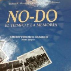 Libros de segunda mano: NO-DO EL TIEMPO Y LA MEMORIA DE RAFAEL R. TRANCHE Y VICENTE SANCHEZ-BIOSCA (CATEDRA) CON DVD. Lote 155611538
