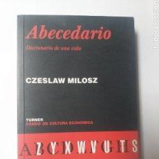 Libros de segunda mano: PENSAMIENTO LITERATURA ENSAYO . ABECEDARIO DICCIONARIO DE UNA VIDA ,CZESLAW MILOSZ. Lote 155663384