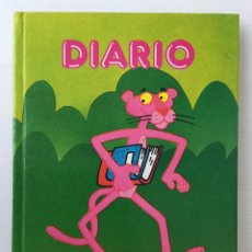 Libros de segunda mano: DIARIO THE PINK PANTER – LA PANTERA ROSA – MUNDI PAPER – TM AND 1984 UNITED ARTISTS CORP. Lote 155687698