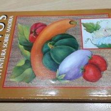 Libros de segunda mano: DISEÑOS PARA PINTURA SOBRE MADERA - DORA DE MARANGON - MANOS PRACTICAS. Lote 155687846