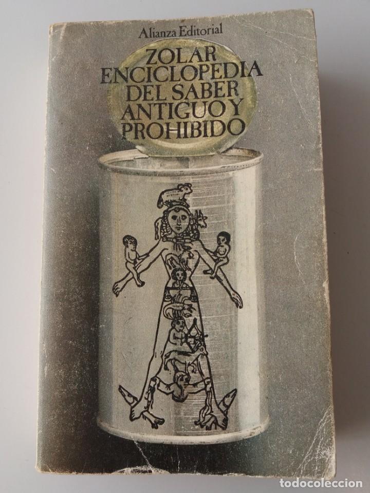 ZOLAR ENCICLOPEDIA DEL SABER ANTIGUO Y PROHIBIDO (Libros de Segunda Mano - Parapsicología y Esoterismo - Otros)