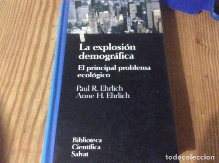 LA EXPLOSION DEMOGRAFICA - EL PRINCIPAL PROBLEMA ECOLOGICO -- BIBLIOTECA CIENTICA SALVAT (Libros de Segunda Mano - Ciencias, Manuales y Oficios - Otros)