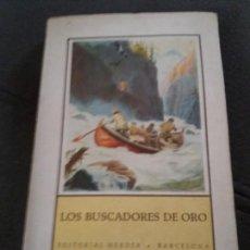 Libros de segunda mano: LOS BUSCADORES DE ORO. Lote 155746790