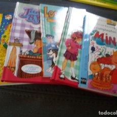 Libros de segunda mano: LOTE DE 5 LIBROS JUVENILES - VER FOTOS Y DESCRIPCION. Lote 155768042