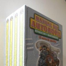 Libros de segunda mano: MANUAL DEL AUTOMÓVIL OBRA COMPLETA 4 VOLUMENES - CULTURAL, S.A.. Lote 164387624