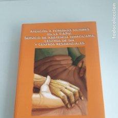 Libros de segunda mano: ARARTEKO - ATENCIÓN A PERSONAS MAYORES EN LA CAPV - INFORME EXTRAORDINARIO DICIEMBRE 2004. Lote 155782746