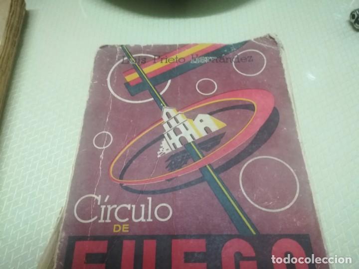 Libros de segunda mano: CÍRCULO DE FUEGO, LA ODISEA DEL ASEDIO AL SANTUARIO DE LA VIRGEN DE LA CABEZA / MADRID 1957 - Foto 2 - 182170123