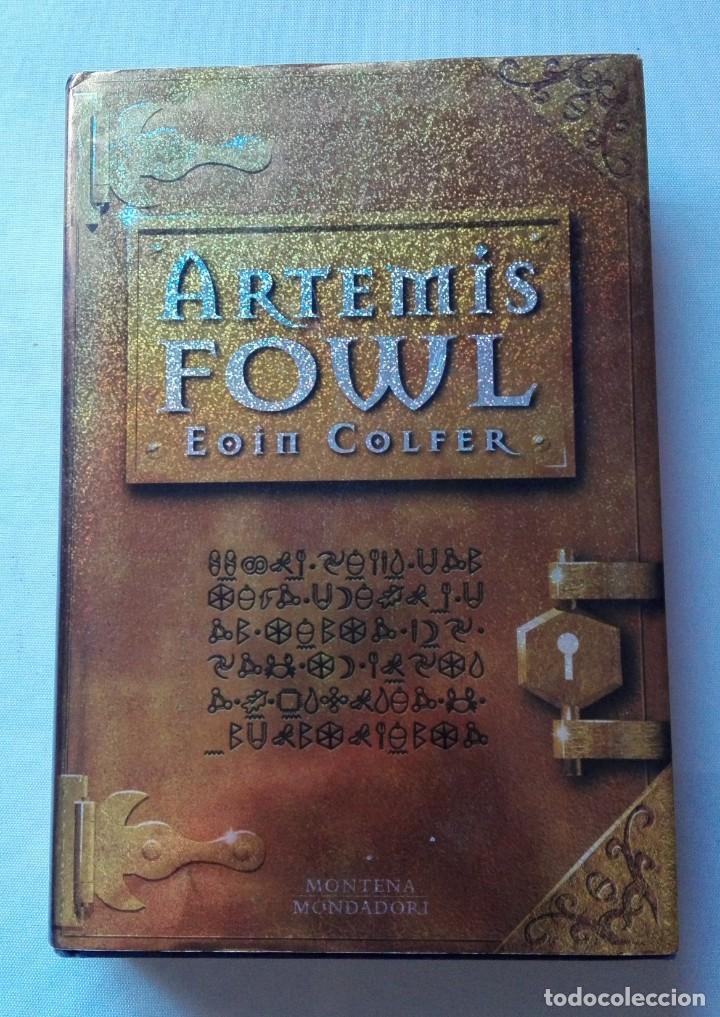 LIBRO DE ARTEMIS FOWL (EOIN COLFER). (Libros de Segunda Mano - Literatura Infantil y Juvenil - Otros)
