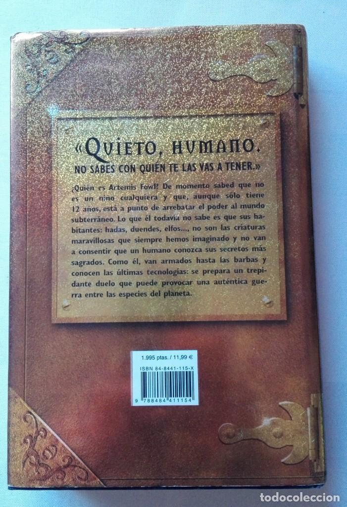 Libros de segunda mano: LIBRO DE ARTEMIS FOWL (EOIN COLFER). - Foto 2 - 155838198