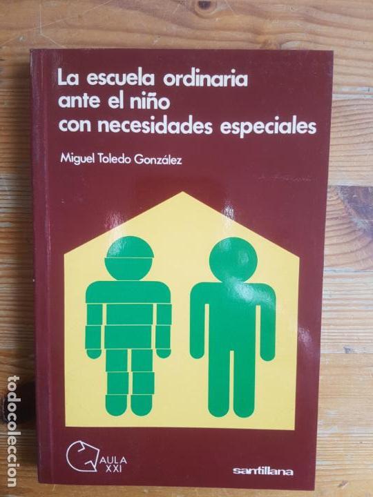 LA ESCUELA ORDINARIA ANTE EL NIÑO CON NECESIDADES ESPECIALES TOLEDO GONZÁLEZ SANTILLANA 1989 282PP (Libros de Segunda Mano - Pensamiento - Otros)