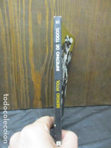 Libros de segunda mano: Infierno de todos (Sergio Pitol) - Foto 2 - 155860798