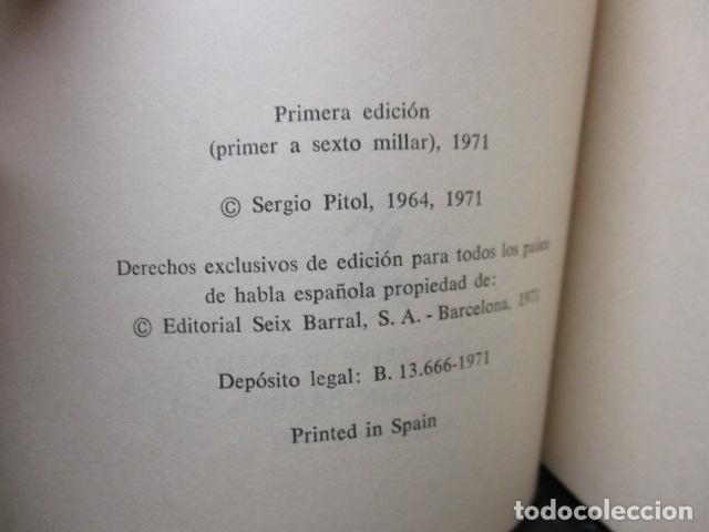 Libros de segunda mano: Infierno de todos (Sergio Pitol) - Foto 6 - 155860798