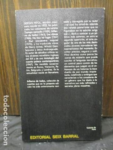 Libros de segunda mano: Infierno de todos (Sergio Pitol) - Foto 10 - 155860798