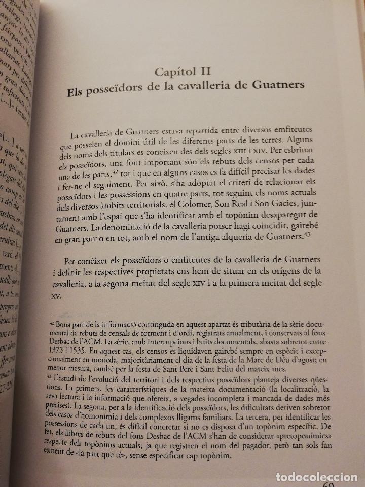 Libros de segunda mano: UN PLÀNOL D'UNA ÀREA RURAL DE MITJAN SEGLE XV (VV. AA.) COL.LECCIÓ SEU DE MALLORCA - Foto 6 - 155865606
