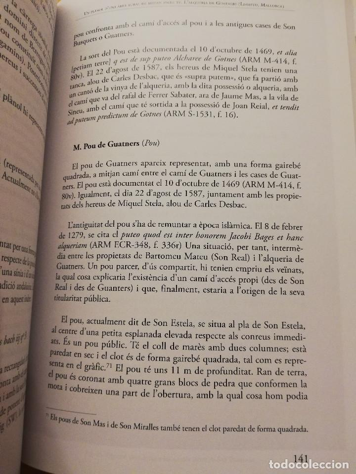 Libros de segunda mano: UN PLÀNOL D'UNA ÀREA RURAL DE MITJAN SEGLE XV (VV. AA.) COL.LECCIÓ SEU DE MALLORCA - Foto 10 - 155865606