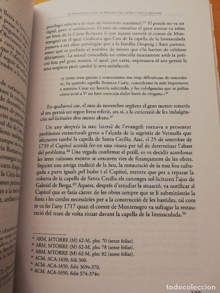 Libros de segunda mano: LA MÚSICA A LA SEU: HISTÒRIA, ART I DEVOCIÓ (VV. AA.) COL.LECCIÓ SEU DE MALLORCA - Foto 6 - 155865930