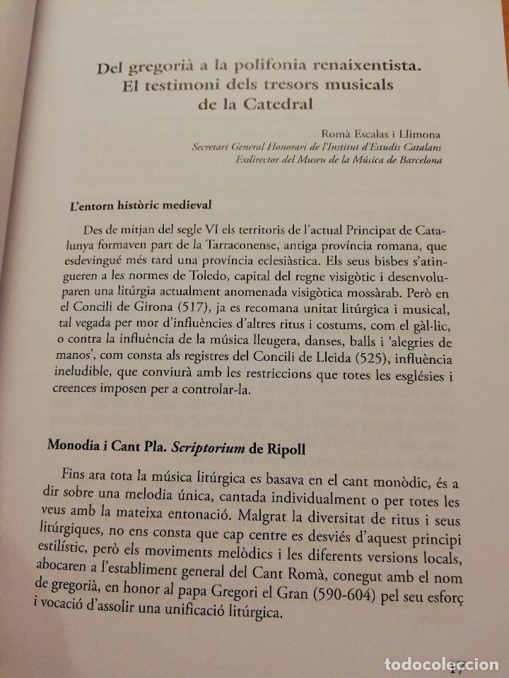 Libros de segunda mano: LA MÚSICA A LA SEU: HISTÒRIA, ART I DEVOCIÓ (VV. AA.) COL.LECCIÓ SEU DE MALLORCA - Foto 7 - 155865930