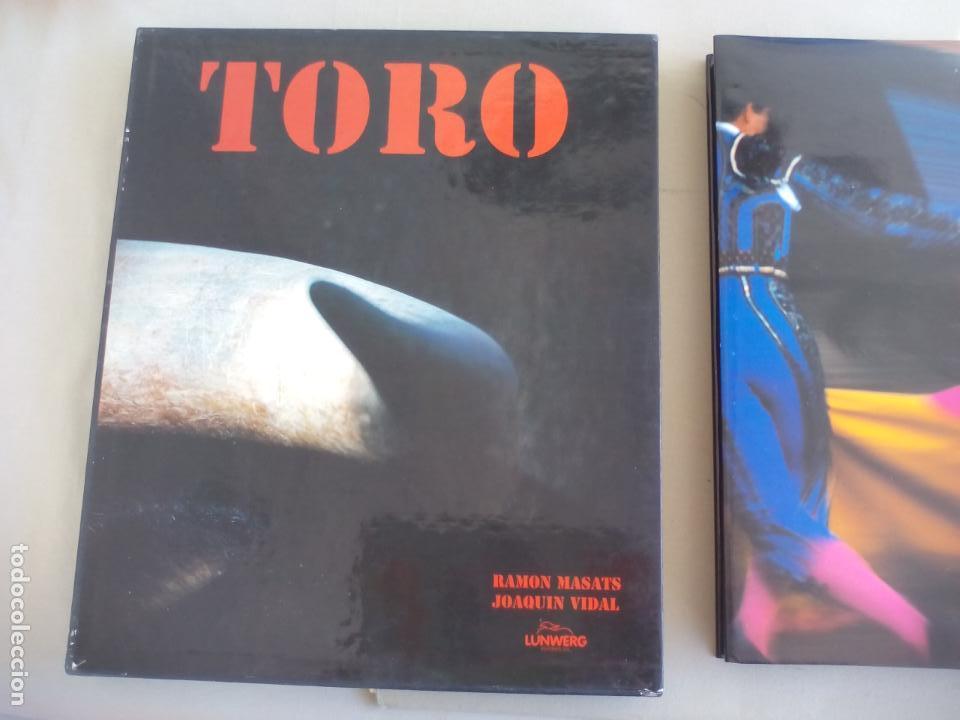 Libros de segunda mano: TORO. RAMÓN MASATS FOTOGRAFÍAS, JOAQUIN VIDAL TEXTO. 1998 LUNWERG EDITORES - Foto 7 - 155868434