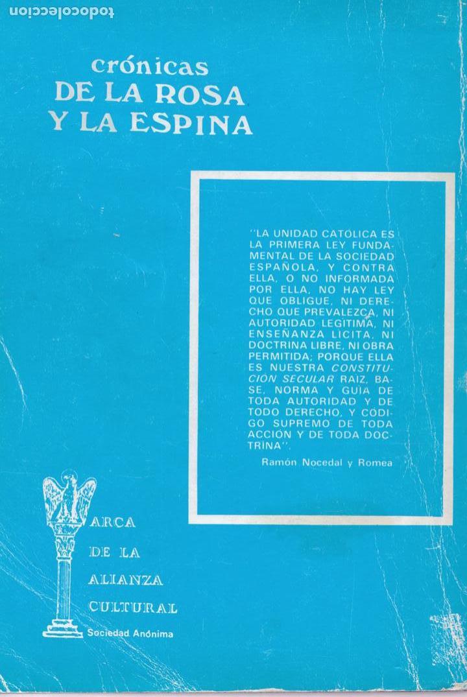 Libros de segunda mano: ¿La esperanza enterrada? : testimonios y recuerdos de un general de Franco / Luis Serrano de Pablo - Foto 2 - 155868714