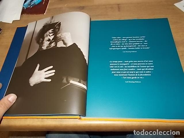 Libros de segunda mano: ESCULTOR H.K.H. PRINS HENRIK & MIEMBRO MOVIMIENTO CoBrA CARL-HENNING PEDERSEN. 1ª EDICIÓN 2016. - Foto 4 - 155870230