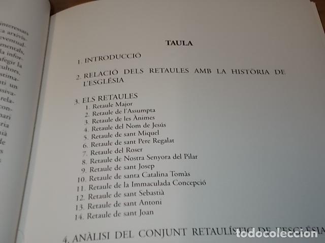 Libros de segunda mano: ELS RETAULES DE L'ESGLÉSIA D' ALGAIDA. MIQUEL ÄNGEL CAPELLÀ. AJUNTAMENT D' ALGAIDA.1999 .MALLORCA - Foto 4 - 155871270