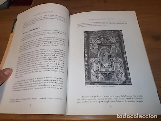 Libros de segunda mano: ELS RETAULES DE L'ESGLÉSIA D' ALGAIDA. MIQUEL ÄNGEL CAPELLÀ. AJUNTAMENT D' ALGAIDA.1999 .MALLORCA - Foto 8 - 155871270