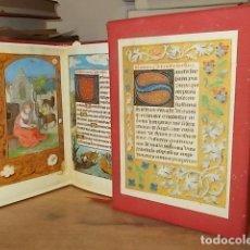 Libros de segunda mano: LAS HORAS DE HASTINGS.LIBRO DE HORAS FLAMENCO DEL SIGLO XV... OLAÑETA. 1983. EDICIÓN NUMERADA. FOTOS. Lote 155906850