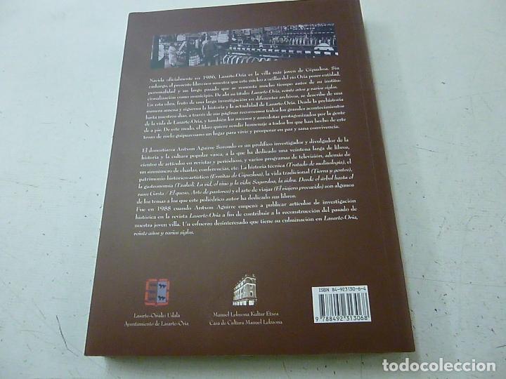 Libros de segunda mano: Lasarte-Oria. Veinte años y varios siglos - Aguirre Sorondo, Antxon - N 3 - Foto 2 - 155917654