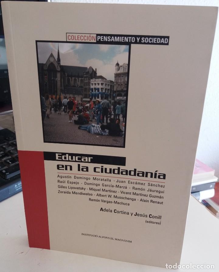 EDUCAR EN LA CIUDADANÍA - CORTINA / CONILL (ED) (Libros de Segunda Mano - Pensamiento - Otros)