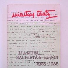 Libros de segunda mano: REVISTA MIENTRAS TANTO Nº 30-31. Lote 155942286