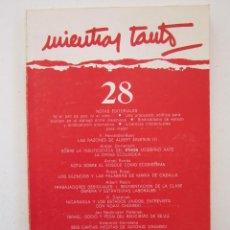 Libros de segunda mano: REVISTA MIENTRAS TANTO Nº 28. Lote 155942358