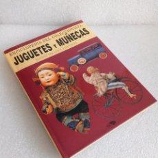 Libros de segunda mano: LIBRO ENCICLOPEDIA DE JUGUETES Y MUÑECAS DE LYDIA DARBYSHIRE (DESCATALOGADO). Lote 155957502