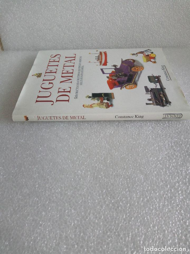 Libros de segunda mano: LIBRO JUGUETES DE METAL - CONSTANCE KING - EDIMAT AÑO 1999 - Foto 2 - 155961734