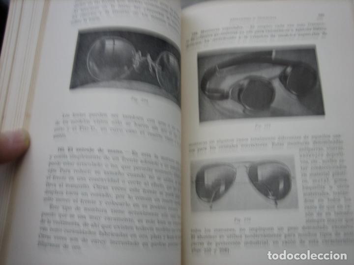 Libros de segunda mano: Tomo I y II. Técnica de Óptica Oftalmica - Foto 9 - 155986126