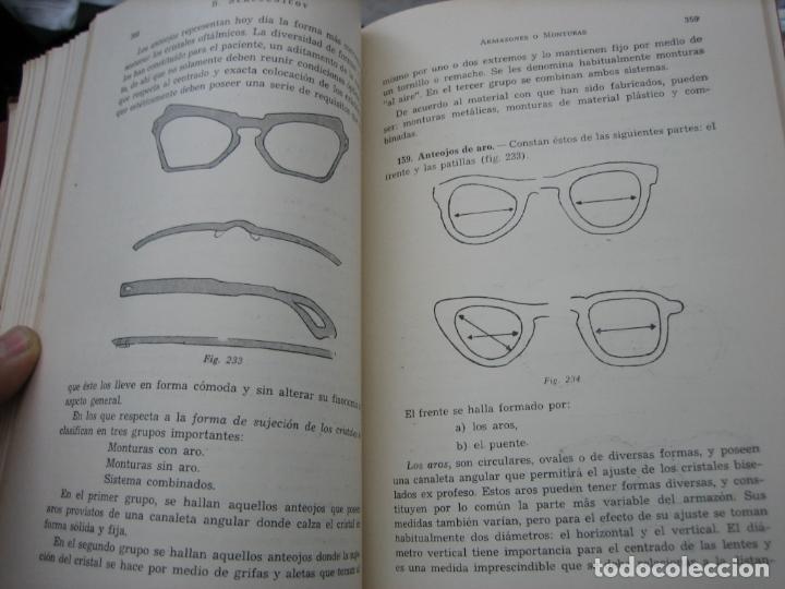 Libros de segunda mano: Tomo I y II. Técnica de Óptica Oftalmica - Foto 11 - 155986126