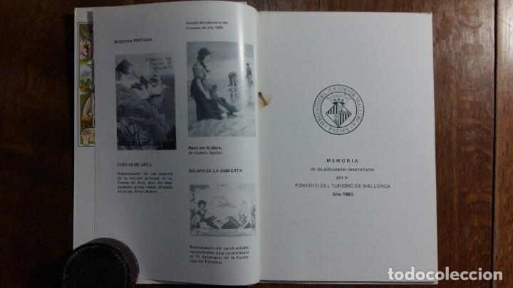 Libros de segunda mano: Fomento del turismo de Mallorca. Memoria del año 1980 - Foto 2 - 155996918