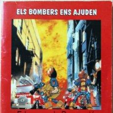 Libros de segunda mano: LOS BOMBEROS NOS AYUDAN EDUCAR EN LA PREVENCIÓN 112 BOMBEROS DIPUTACION ALICANTE. Lote 155997594