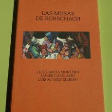 Libros de segunda mano: LAS MUSAS DE RORSCHACH - TDK16. Lote 156005409