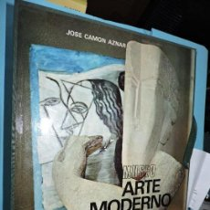 Libros de segunda mano: MUSEO DE ARTE MODERNO PARÍS. CAMON AZNAR, JOSE. COL LIBROFILM. ED. AGUILAR. MADRID 1974. Lote 156041834