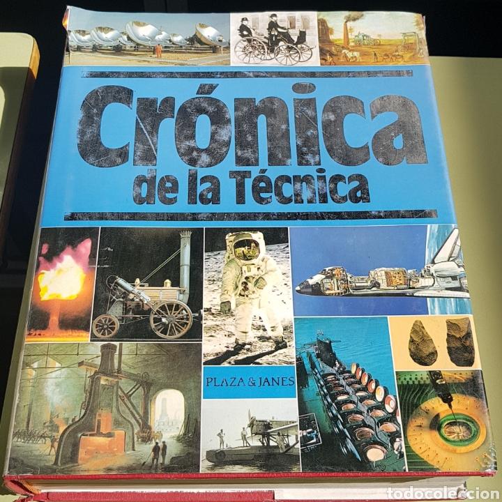 CRONICA DE LA TECNICA - PLAZA JANES - ARM10 (Libros de Segunda Mano - Historia - Otros)