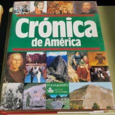 Libros de segunda mano - Cronica de america - plaza janes - arm10 - 156199989