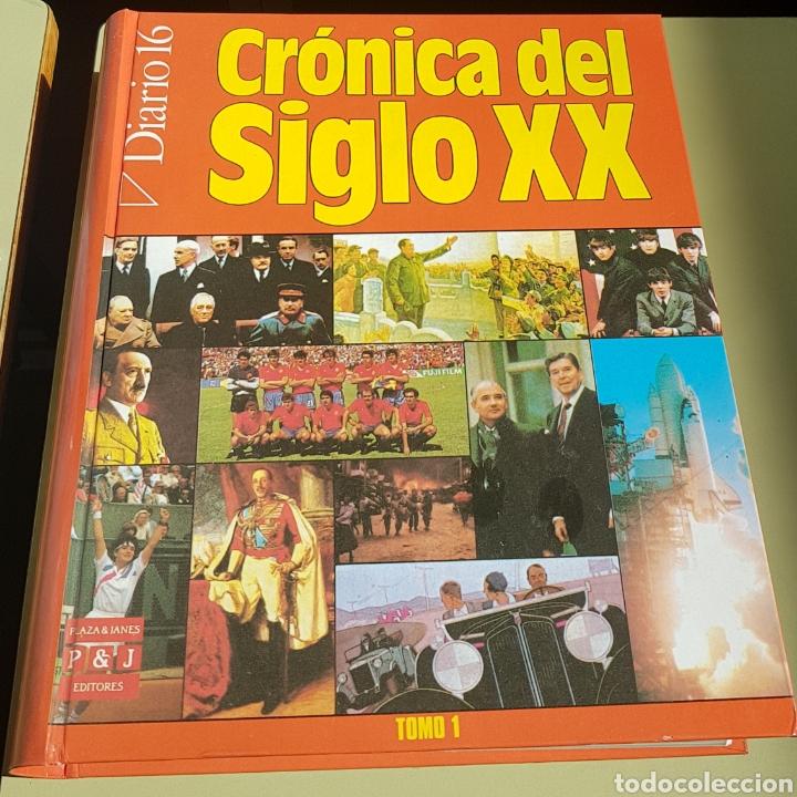 CRONICA DEL SIGLO XX - 2 TOMOS - ARM10 (Libros de Segunda Mano - Historia - Otros)